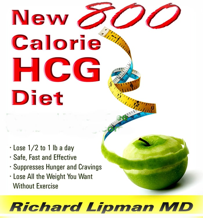 800 Calorie HCG book and weight loss manual