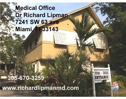 Medical office of Ricard Lipman MD South Miami